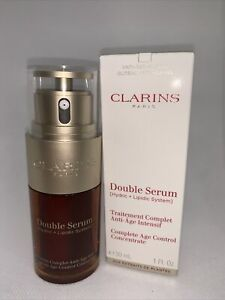 Clarins Double Serum Complete Age Control Concentrate 30ml/1fl.oz. New In Box