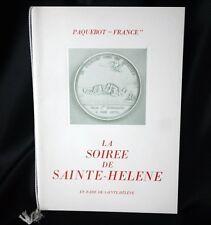 "CGT FRENCH LINE SS ""FRANCE"" Soiree De Sainte Helene 1969"