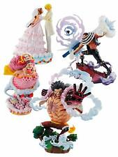 LOGBOX RE BIRTH ONE PIECE Hall cake Island BOX figure 4 set luffy Katakuri JAPAN