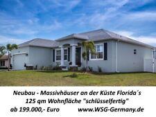 Florida / USA: Ziegelhaus-Neubau ab 199.000,- Euro schlüsselfertig