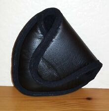 Pro Source Leather Mallet Putter Headcover (2 Ball) Black D4206