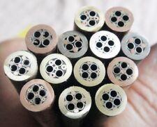 Copper Tube Knife Sword Gun Handle Decoration Mosaic Pin Rivet Making Material