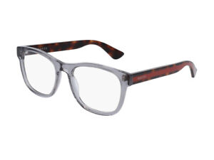 Eyeglasses Gucci GG0004O with. 004 grey Authentic