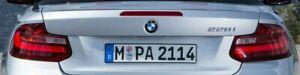 BMW OEM F22 F23 F87 2 Series 2014-2016 Taillight Pair European Spec Brand New