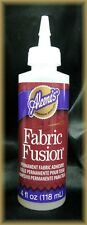 ALEENE'S    FABRIC FUSION  -   Permanent Fabric Adhesive - 4 oz (118ml)