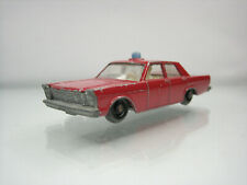 Diecast Lesney Matchbox Ford Galaxie Fire Chief No. 59 in Red Good Condition