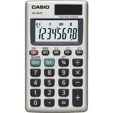Casio 8 DIGIT Solar Pocket Calculator Tax Calculations Hs85te