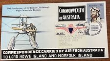 1981 chichesters flight across the Tasman first day cover