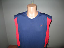 New Mens Size XL Active Old Navy Blue Red Tank Top @@