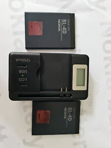 BL-4D battery + LCD universal charger for NOKIA N8 N8-00 702T 808 N5 E500 E5-00