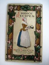 Vintage 1912 - Home Made Chocolate Candy Recipes - Fudge Colored Pictures *