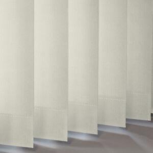 Cream Dim-out Replacement Vertical Slats  (89mm) - Atlantex ASC Vanilla