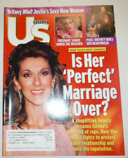 US Weekly Magazine Rene Faces Rape Charges April 2002 032415R
