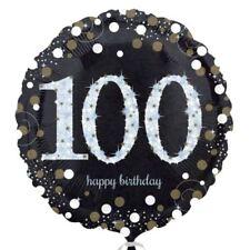 Palloncini neri Anagram compleanno adulto per feste e party