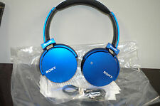 SONY MDR-XB650BT Extra Bass Bluetooth Wireless Headphones Blue
