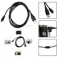 USB 12 Pin Data SYNC Cable Lead Battery Charging Wire for Olympus Digital Camera