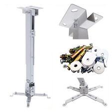 Projector Mounting Universal LCD DLP Ceiling Mount Bracket Tilt 360°Swivel 66lbs