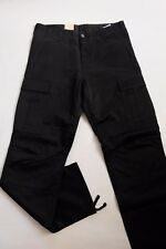 JEANS PANTALON CARHARTT REGULAR CARGO  PANT (black rigid) W33  L32  VAL120€