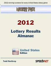NEW Lottery Post 2012 Lottery Results Almanac, United States Edition