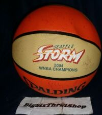 Spalding 2004 Seattle Storm WNBA CHAMPIONS Ball Basketball Official outdoor