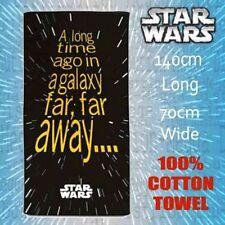 OFFICIAL Star Wars Bath/Beach/Picnic/Gym Pool/Kids 100% Cotton Towel 140 x 70cm