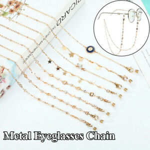 1PC Five-pointed Star Delicate Butterfly Mask Chain Stylish Metal Glasses Chain