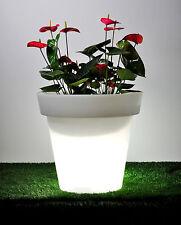 Blumentopf Blumenkübel Pflanzkübel beleuchtet - Designer Leuchte - Höhe 60 cm