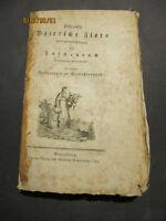 SCHRANKS BAIERISCHE FLORA (...) als Taschenbuch 1793 Schrank Botanik