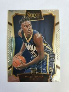 2015-16 Panini Select  Myles Turner #8 Rookie Card RC Pacers Hot🔥