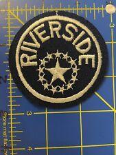 Vintage Riverside Patch Police Officer Sheriff Deputy Department RPD California