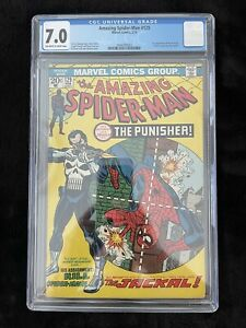 Amazing Spider-Man #129 CGC 7.0 1974 1st app. Punisher, Jackal