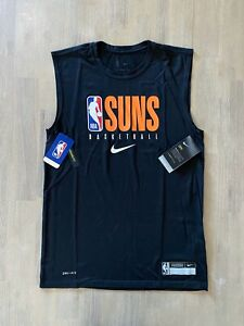 Nike NBA Phoenix Suns Team Issued Practice Tank CD2782 010 Size 4XLT Engineered