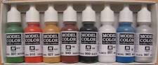 VALLEJO 70103 Wargame Basics Model Paint Set 8 Colors 17ML Bottles FREE SHIPPING