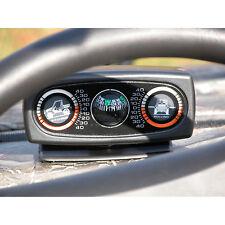 Rugged Ridge UTV Clinometer With Compass Tilt Gauge  63309.01