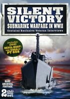 Silent Victory Submarine Warfare in WWII [New DVD]