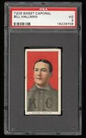 1909-11 T206 Bill Hallman Sweet Caporal 350 Kansas City PSA 3 VG