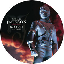 Michael Jackson History: Continues picture disc Vinyl 2 LP NEW sealed