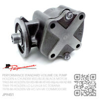 JP STANDARD VOLUME OIL PUMP 6 CYL 149-161-179-186 RED MOTOR [HOLDEN EH-HD-HR]
