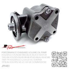 JP STANDARD VOLUME OIL PUMP 6 CYL 149-161-179-186 RED MOTOR [HOLDEN EH-HD-HR]