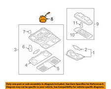 VW VOLKSWAGEN OEM 10-14 Golf Sunroof Moon Roof-Switch 1K0959613C81U