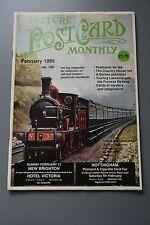 R&L Mag Picture Postcard Monthly 1995 Feb V1 V2 Rocket/Ceylon Tea/Giants Dwarf
