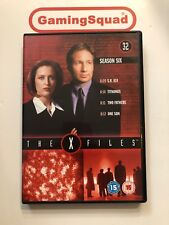 The X Files Disc 32 Season 6 Episodes 4 DVD, Supplied by Gaming Squad Ltd