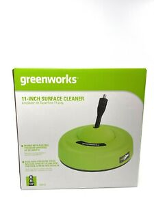 "Greenworks 30012 Pressure Washer 11"" Surface Cleaner Patio Driveway"