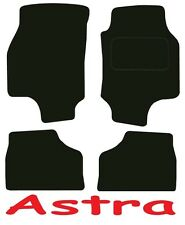 Deluxe Quality Car Mats for Vauxhall Astra 1998-2004 in Black
