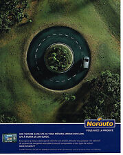PUBLICITE ADVERTISING 104  2005  NORAUTO   accessoires automobiles GPS