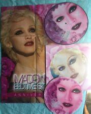 # Madonna BED TIME STORIES (no.164/300) c/inserto sagom. e poster (M-) LP-R00653