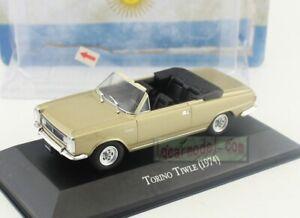 1/43 Scale TORINO TIWLE 1974 Diecast Model Has Flaw