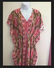 New Womens Caftan Kaftan Dress Tunic  One Size