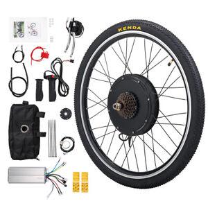 48V 1000W E-Bike Rear Wheel/Electric Bicycle Motor Conversion Kit