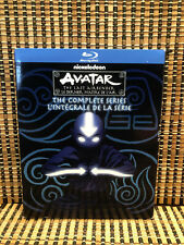 Avatar: The Last Airbender - Complete Series (9-Disc Blu-ray, 2018)+Slipcover